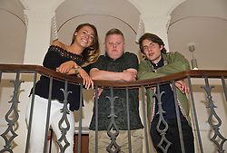 Pictured: Shana Swash, Stephen Brandon and  Will Rastall<br /> <br /> Some of the cast and those behind the scenes of My Feral Heart gathered in the Scotch Whisky Society in Edinburgh to relax ahead of the UK Premier of their film at the Edinburgh International Film Festival. Directed by Jane Gull, My Feral Heart stars Stephen Brandon in his debut as Luke, Will Rastall, Shana Swash, Eileen Polliock, Suzanna Hamilton and Pixie Le Knot.<br /> <br /> When Luke, an independent and sensitive young man with Down's syndrome is forced to live in a care home after his elderly mother dies, he struggles to settle. Frustrated by having his wings clipped by unfamiliar rules; totally unimpressed by his new housemates and grieving for his Mum - his disappointment soon turns to wonder when Luke discovers a way out and begins to explore the surrounding countryside. When he is caught sneaking out by Pete, a troubled youth who tends the gardens at the Home, they strike up an unlikely rapport: Pete covers for Luke when he sneaks out and in return Luke helps Pete clear the garden. On an illicit excursion to the adjoining field Luke discovers a young injured girl in desperate need of his help.<br /> <br /> <br /> Ger Harley | EEm 17 June  2016