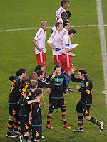 Fotball<br /> Tyskland<br /> Foto: Witters/Digitalsport<br /> NORWAY ONLY<br /> <br /> 22.04.2009<br /> <br /> Jubel Torsten Frings Bremen<br /> Fussball DFB-Pokal Halbfinale Hamburger SV - Werder Bremen 2:3 n. E.