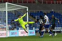 Swansea City's Wayne Routledge scores his side's fourth goal and that puts Swansea City into the play-offs<br /> <br /> Photographer David Horton/CameraSport<br /> <br /> The EFL Sky Bet Championship - Reading v Swansea City - Wednesday July 22nd 2020 - Madejski Stadium - Reading <br /> <br /> World Copyright © 2020 CameraSport. All rights reserved. 43 Linden Ave. Countesthorpe. Leicester. England. LE8 5PG - Tel: +44 (0) 116 277 4147 - admin@camerasport.com - www.camerasport.com