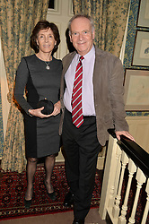 LORD & LADY ARCHER at a party to celebrate the publication of Right or Wrong: The Memoirs of Lord Bell held at Mark's Club, Charles Street, London on 16th October 2014.