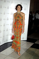 TV presenter BEVERLEY TURNER at the 2004 British Fashion Awards held at Thhe V&A museum, London on 2nd November 2004.<br /><br />NON EXCLUSIVE - WORLD RIGHTS