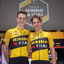 10-12-2019: Wielrennen: Teampresentatie Jumbo Visma: Amsterdam<br />Lars Boven, Rick Pluimers