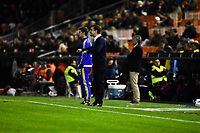 Valencia CF's   coach Gary Neville  during spanish King's Cup match. January 21, 2016. (ALTERPHOTOS/Javier Comos)