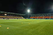 General view of the Underhill Stadium before the The FA Cup fourth round match between Barnet and Brentford at Underhill Stadium, London, England on 28 January 2019.