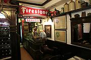 Restaurant area inside famous historic Los Gatos Cervecerias bar, Madrid, Spain