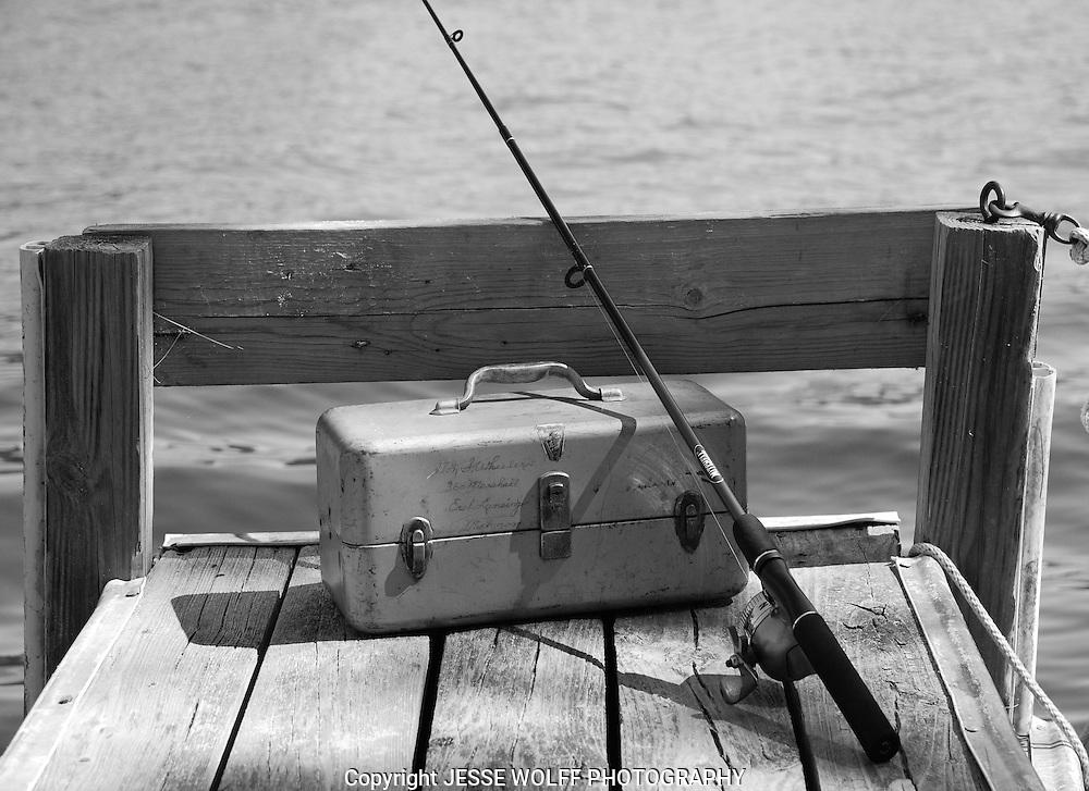 Granpa's fishing tackle