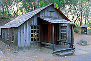 James Marshall's cabin, Marshall Gold Discovery State Historic Park, Coloma, California