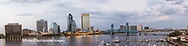 63412-01013 St. Johns River and Jacksonville Florida skyline at twilight Jacksonville, FL