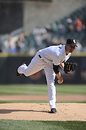 CHICAGO - APRIL 09:  Phil Humber #41 of the Chicago White Sox pitches against the Tampa Bay Rays on April 09, 2011 at U.S. Cellular Field in Chicago, Illinois.  The White Sox defeated the Rays 4-2.  (Photo by Ron Vesely) Subject: Phil Humber..