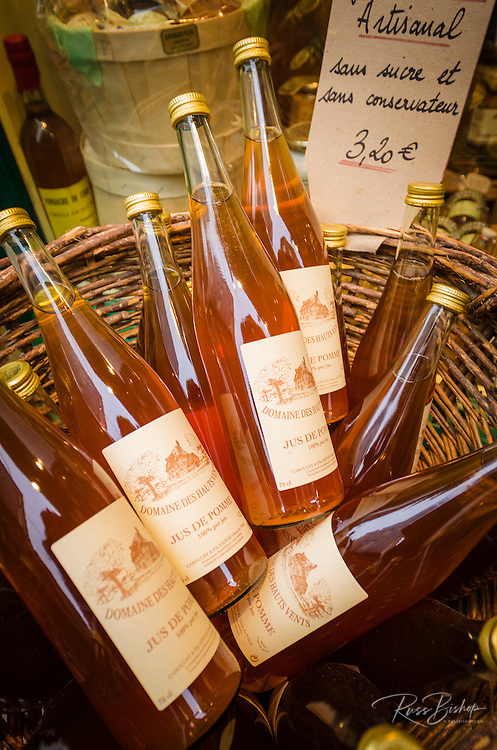 Calvados cider, Honfleur, Normandy, France