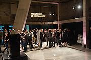 The Tanks at Tate Modern, opening. Tate Modern, Bankside, London, 16 July 2012