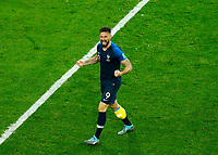 Olivier Giroud (France) celebration<br /> Saint Petersburg 10-07-2018 Football FIFA World Cup Russia  2018 Semifinal <br /> France - Belgium / Francia - Belgio <br /> Foto Matteo Ciambelli/Insidefoto
