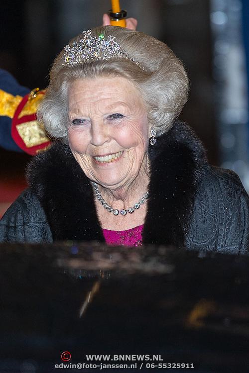 NLD/Amsterdam/20180424 - koning en koningin bieden Corps Diplomatique diner aan, Prinses Beatrix