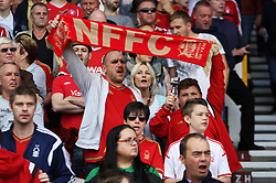 General view of Nottingham Forest fans - Mandatory byline: Jack Phillips / JMP - 07966386802 - 19/9/2015 - FOOTBALL - The City Ground - Nottingham, Nottinghamshire - Nottingham Forest v Middlesbrough - Sky Bet Championship