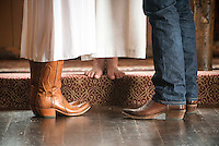 Jackson Hole wedding — Jen Simon and Adam Meyer, Chapel of the Transfiguration, Grand Teton National Park, Wyoming.
