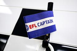 A captain's arm band hangs in the Bristol City dressing room - Rogan/JMP - 31/10/2017 - Craven Cottage - London, England - Fulham FC v Bristol City - Sky Bet Championship.