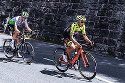 10.07.2019, Fuscher Törl, AUT, Ö-Tour, Österreich Radrundfahrt, 4. Etappe, von Radstadt nach Fuscher Törl (103,5 km), im Bild v.l.: Ben O'Connor (Team Dimension Data, AUS), Dayer Quintana (Neri Selle Italia KTM, COL) // during 4th stage from Radstadt to Fuscher Törl (103,5 km) of the 2019 Tour of Austria. Fuscher Törl, Austria on 2019/07/10. EXPA Pictures © 2019, PhotoCredit: EXPA/ JFK