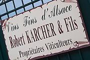robert karcher & fils winery colmar alsace france