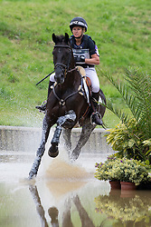 Jonelle Price, (NZL), Classic Moet - Eventing Cross Country test - Alltech FEI World Equestrian Games™ 2014 - Normandy, France.<br /> © Hippo Foto Team - Leanjo de Koster<br /> 30/08/14
