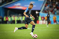 Kylian Mbappe of France during the 2018 FIFA World Cup Russia, Semi Final football match between France and Belgium on July 10, 2018 at Saint Petersburg Stadium in Saint Petersburg, Russia - Photo Thiago Bernardes / FramePhoto / ProSportsImages / DPPI