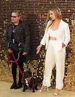 Carrie Fisher, Billie Catherine Lourd, Absolutely Fabulous: The Movie - World Film Premiere,  Leicester Square, London UK, 29 June 2016, Photo by Richard Goldschmidt