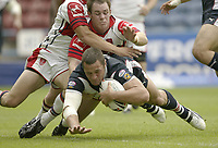 Photo: Aidan Ellis.<br /> St Helens v Hull KR. Powergen Challenge Cup, Semi Final. 29/07/2006.<br /> Saints Vinnie Anderson scores the fourth try