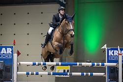 Symons Thomas, BEL, Esteban Van Waerde<br /> Nationaal Indoorkampioenschap  <br /> Oud-Heverlee 2020<br /> © Hippo Foto - Dirk Caremans