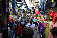The crowded streets of the Old City of Jerusalem <br /> Photo by Dennis Brack