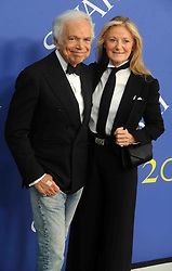 Ralph Lauren and Ricky Anne Loew-Beer at the 2018 CFDA Awards at the Brooklyn Museum in New York City, NY, USA on June 4, 2018. Photo by Dennis Van Tine/ABACAPRESS.COM