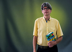 Pictured: Richard Powers<br /> <br /> Richard Powers is an American novelist whose works explore the effects of modern science and technology. His novel The Echo Maker won the 2006 National Book Award for Fiction.