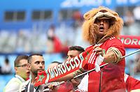 Football - 2018 FIFA World Cup - Group B: Morocco vs. Iran<br /> <br /> Fans are seen at Krestovsky Stadium, Saint Petersburg.<br /> <br /> COLORSPORT/IAN MACNICOL