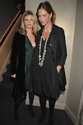 Left to right, SUSANNAH CONSTANTINE and TRINNY WOODALL at a party hosted by Kitts nightclub in honour of Ed Godrich to than him for his work on designing the club in Sloane Square, London on 1st March 2007.<br />