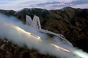 F/A-18A Hornet firing ZUNI rockets at Fallon NV