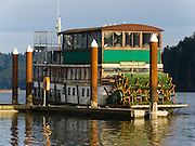"""The town of Florence, Oregon, invites you to """"enjoy the beauty of the magnificent Siuslaw River aboard this elegant 54 foot 1850's sternwheeler, the Westward Ho!"""""""