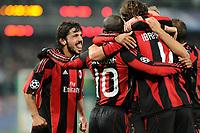 FOOTBALL - CHAMPIONS LEAGUE 2010/2011 - GROUP STAGE - GROUP G - AJ AUXERRE v MILAN AC - 23/11/2010 - PHOTO JEAN MARIE HERVIO / DPPI - JOY MILAN AC