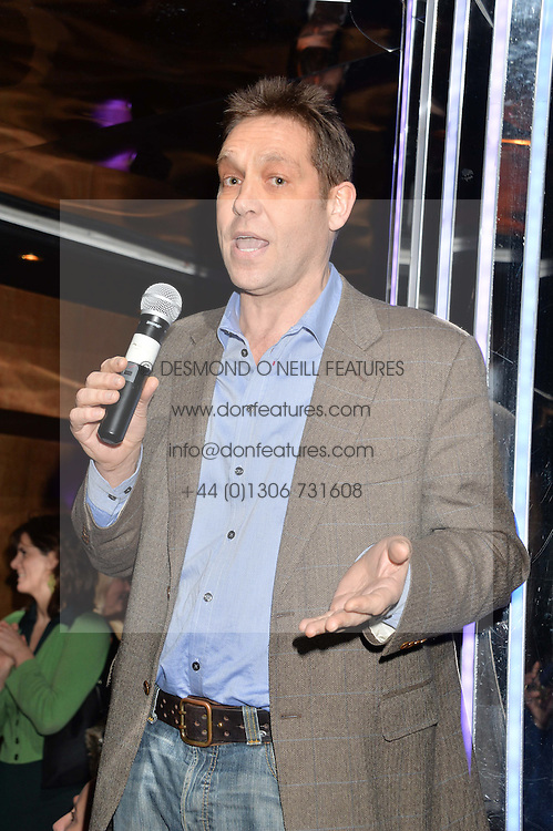 Lawyer BEN ROSE at a party in aid of the Youth at Risk charity held at Raffles, 287 King's Road, London on 27th November 2013.