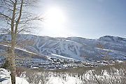 SHOT 3/2/17 5:22:24 PM - Park City, Utah lies east of Salt Lake City in the western state of Utah. Framed by the craggy Wasatch Range, it's bordered by the Deer Valley Resort and the huge Park City Mountain Resort, both known for their ski slopes. Utah Olympic Park, to the north, hosted the 2002 Winter Olympics and is now predominantly a training facility. In town, Main Street is lined with buildings built primarily during a 19th-century silver mining boom that have become numerous restaurants, bars and shops. (Photo by Marc Piscotty / © 2017)