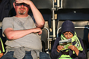 Young FGR fan during the EFL Sky Bet League 2 match between Forest Green Rovers and Stevenage at the New Lawn, Forest Green, United Kingdom on 21 August 2018.