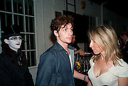 SEPH; AARON JOHNSON; SAM TAYLOR-WOOD, Nokia and Daid Bailey celebrate London ' Alive at Night' to launch Nokia N86. the Old Dairy, 6 Wakefield st. London. WC1. 26 August 2009.