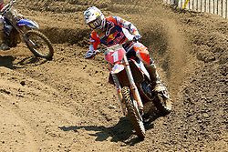 June 17, 2018 - Ottobiano, Lombardia, Italy - Pauls Jonass of Red Bull KTM Factory Racing team during  the Fiat Professional MXGP of Lombardia race, category MX2, at Ottobiano Motorsport circuit on June 17, 2018 in Ottobiano (PV), Italy. (Credit Image: © Massimiliano Ferraro/NurPhoto via ZUMA Press)
