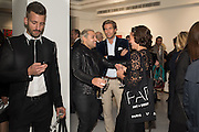 PABLO GANGULI; ANDREA DELLAL, Liberatum, Robert Indiana | Don't Lose HOPE, ContiniArtUK, 105 New Bond Street, London 12 October 2015