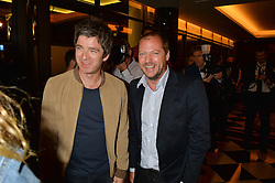 Left to right, NOEL GALLAGHER and MATTHEW FREUD at the London launch of Casamigos Tequila hosted by Rande Gerber, George Clooney & Michael Meldman and to celebrate Cindy Crawford's new book 'Becoming' held at The Beaumont Hotel, Brown Hart Gardens, 8 Balderton Street, London on 1st October 2015.