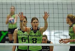 07-04-2005 VOLLEYBAL: STAMSOVOCO-MARTINUS: SOEST<br /> <br /> HCC Martinus plaatst zich voor de finale. Zij versloegen vrij eenvoudig StamSovoco met 3-0 / <br /> <br /> ©2005-WWW.FOTOHOOGENDOORN.NL