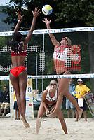 29/07/04 KLAGENFURT (AUSTRIA)  <br />NELLA FOTO GLESNES AGAINST LAREA PERAZA (CUBA)<br />FOTO LUCIANO PIERANUNZI