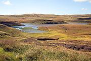 Stanevatstoe Loch, near Sandness, Mainland, Shetland Islands, Scotland