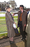 Lady Plymouth and Lord Harlech. Ludlow Charity Race Day,  in aid of Action Medical Research. Ludlow racecourse. 24 march 2005. ONE TIME USE ONLY - DO NOT ARCHIVE  © Copyright Photograph by Dafydd Jones 66 Stockwell Park Rd. London SW9 0DA Tel 020 7733 0108 www.dafjones.com
