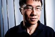 Qu Lu, President of Microsoft Online Services Group, Photographed in 2009 at Microsoft offices in  Redmond WA, for Businessweek Magazine.