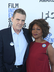February 8, 2020, Los Angeles, California, United States: 2020 Film Independent Spirit Awards held at Santa Monica Pier..Featuring: Roderick Spencer, Alfre Woodard.Where: Los Angeles, California, United States.When: 08 Feb 2020.Credit: Faye's VisionCover Images (Credit Image: © Cover Images via ZUMA Press)