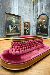 Rubens Room at Royal Museum for Fine Arts in Antwerp Belgium