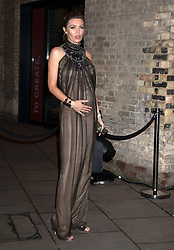 Petra Vodianova, Abbey Clancy, Amber Le Bon, Brooklyn Beckham, Hannah Cross, attend Fabulous Fund Fair Arrivals at The Roundhouse, London, 18 February, 2019.<br /><br />18 February 2019.<br /><br />Please byline: Vantagenews.com